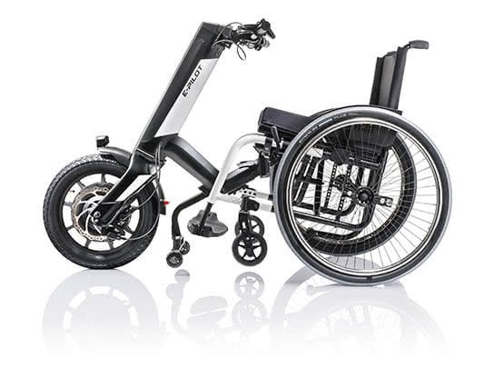 E-Pilot. Das neue Rollstuhl Zug-Gerät
